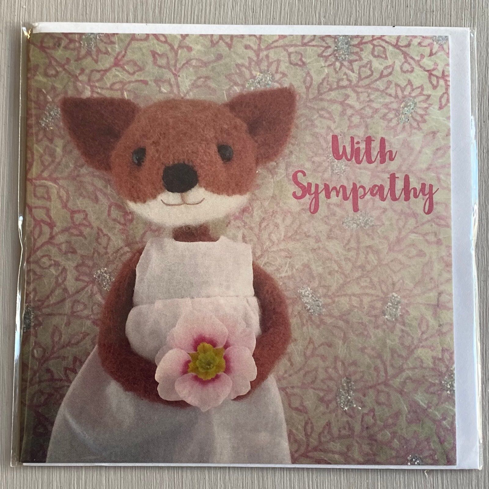 'With Sympathy' Pippi & Me Card