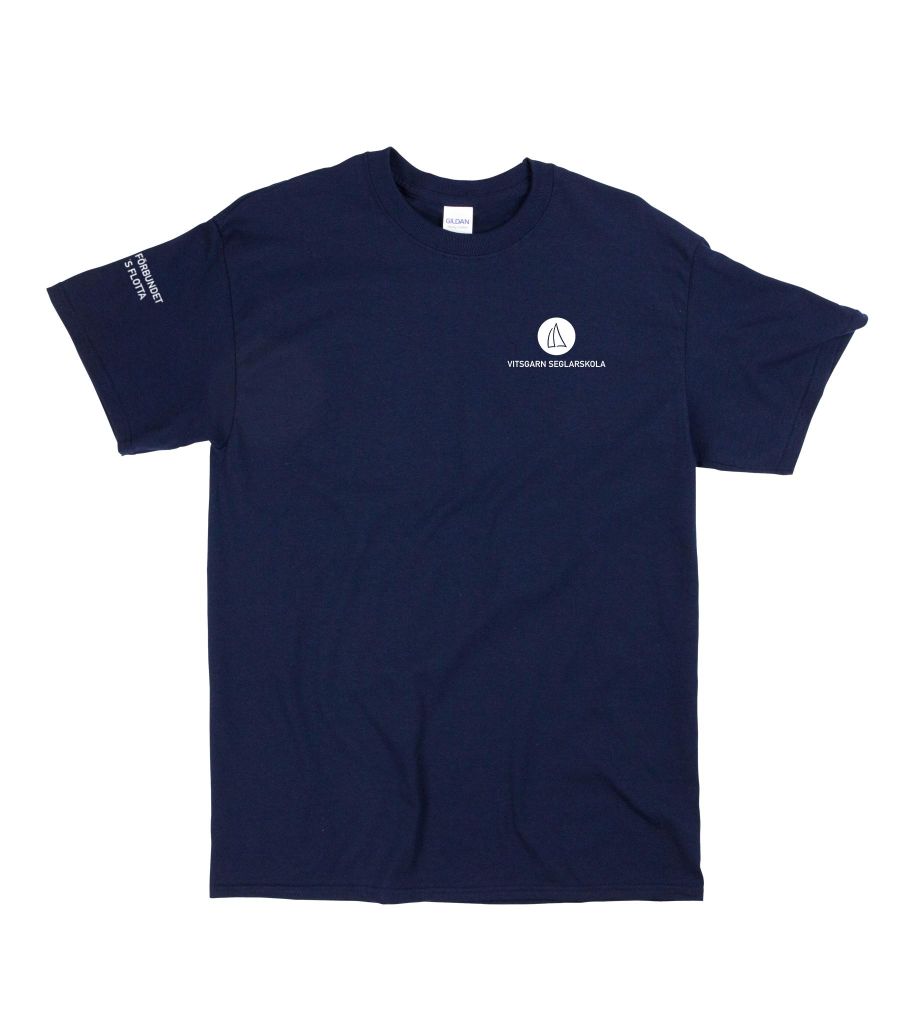 T-shirt Navy Jr