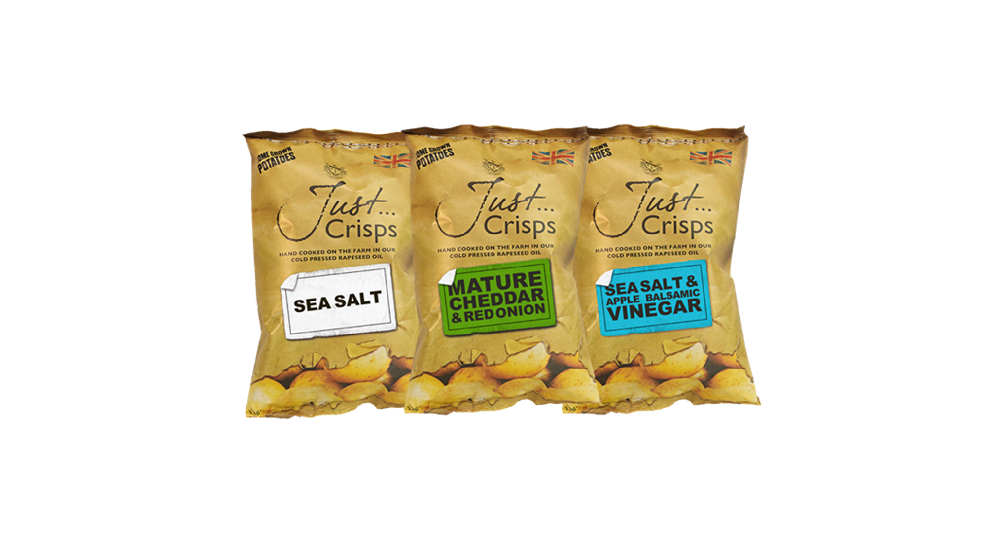 Just Crisps Classic Collection 3 x 4 x 150g Sharing Size