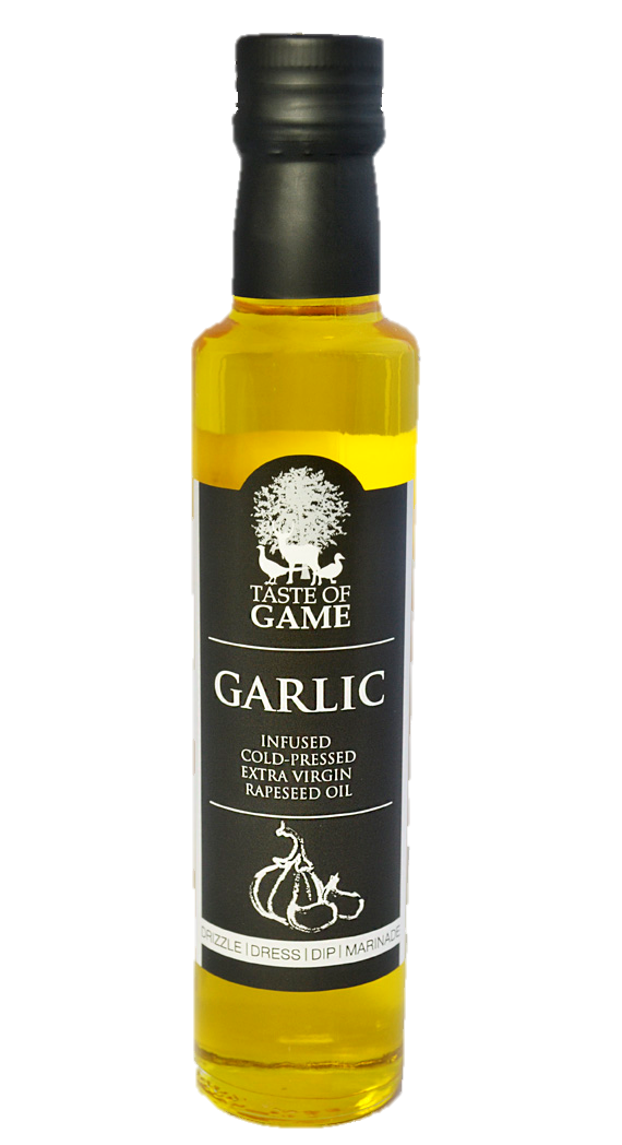 Taste of Game Garlic Infused Rapeseed Oil 250ml (Pack of 6)