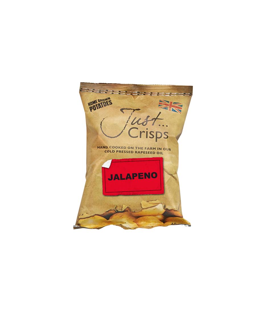 Just Crisps Jalapeño 24 x 40g Snack Size