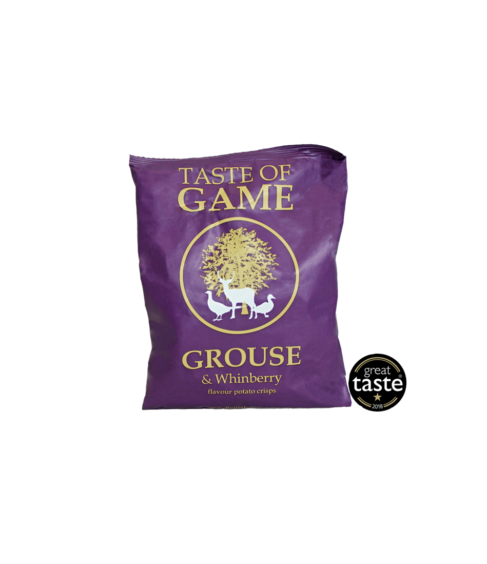 Taste of Game Grouse & Whinberry 24 x 40g Snack Size