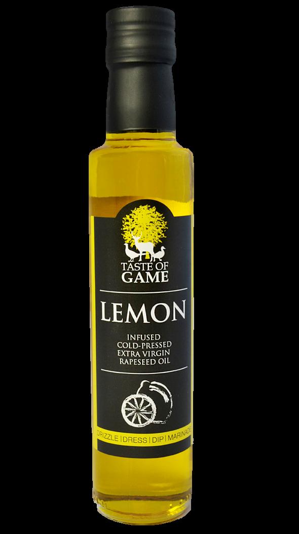 Taste of Game Lemon Infused Rapeseed Oil 250 ml (Pack of 6)