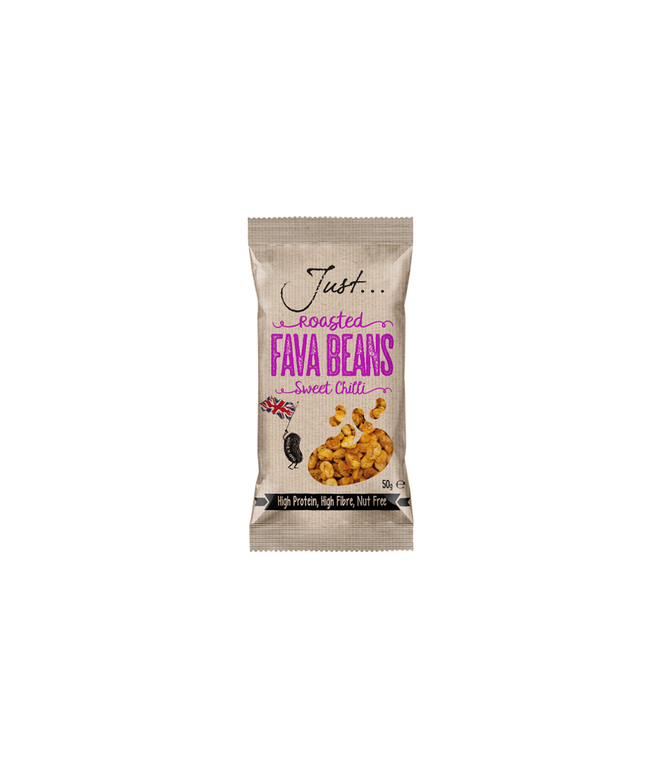 Just Roasted Sweet Chilli Fava Beans 20 x 50g