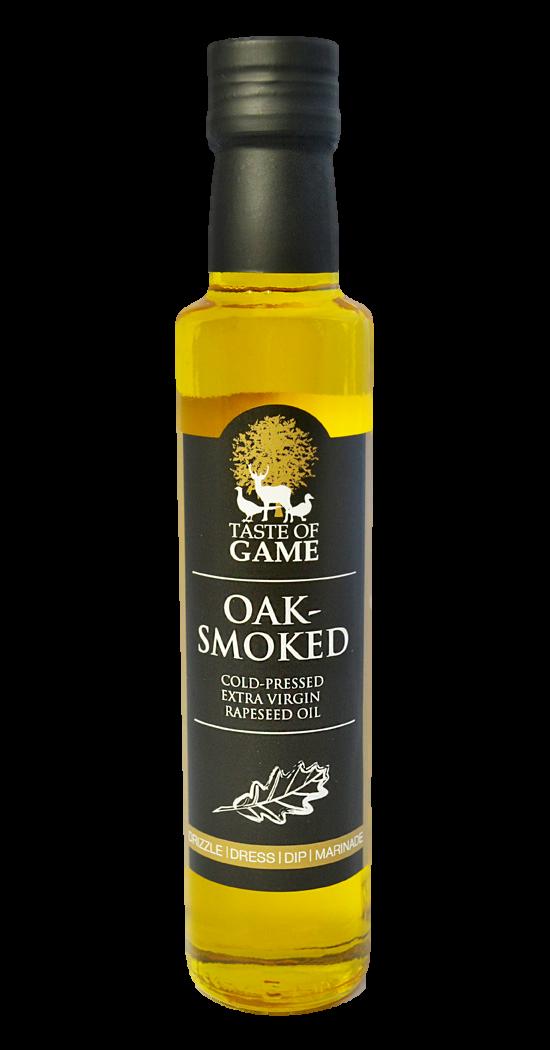 Taste of Game Oak Smoked Infused Rapeseed Oil 250 ml (Pack of 6)