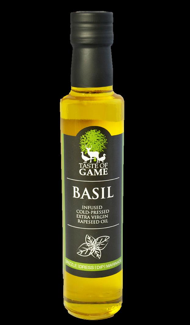 Taste of Game Basil Infused Rapeseed Oil 250 ml (Pack of 6)