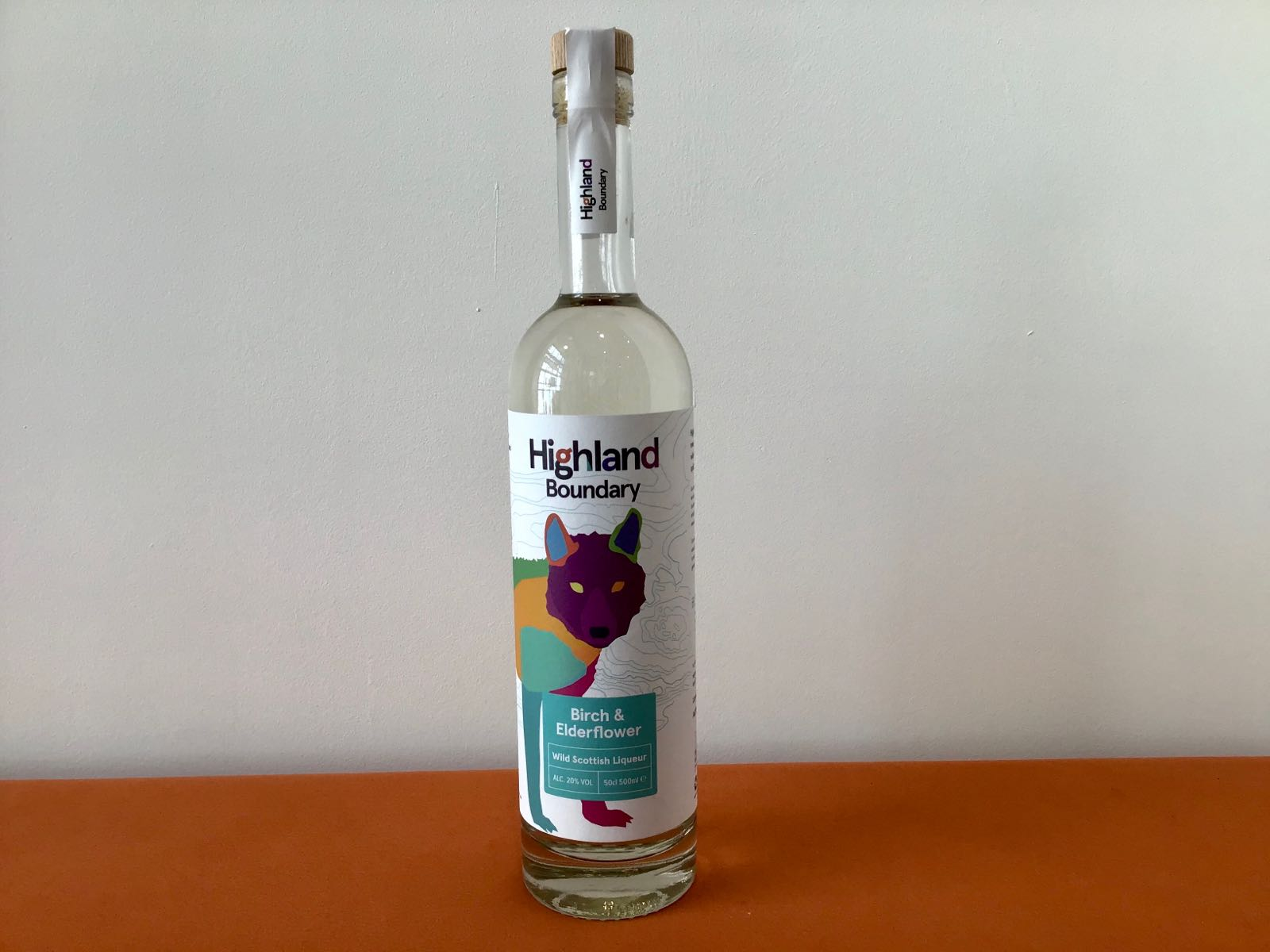 Highland Boundary: Birch & Elderflower liqueur