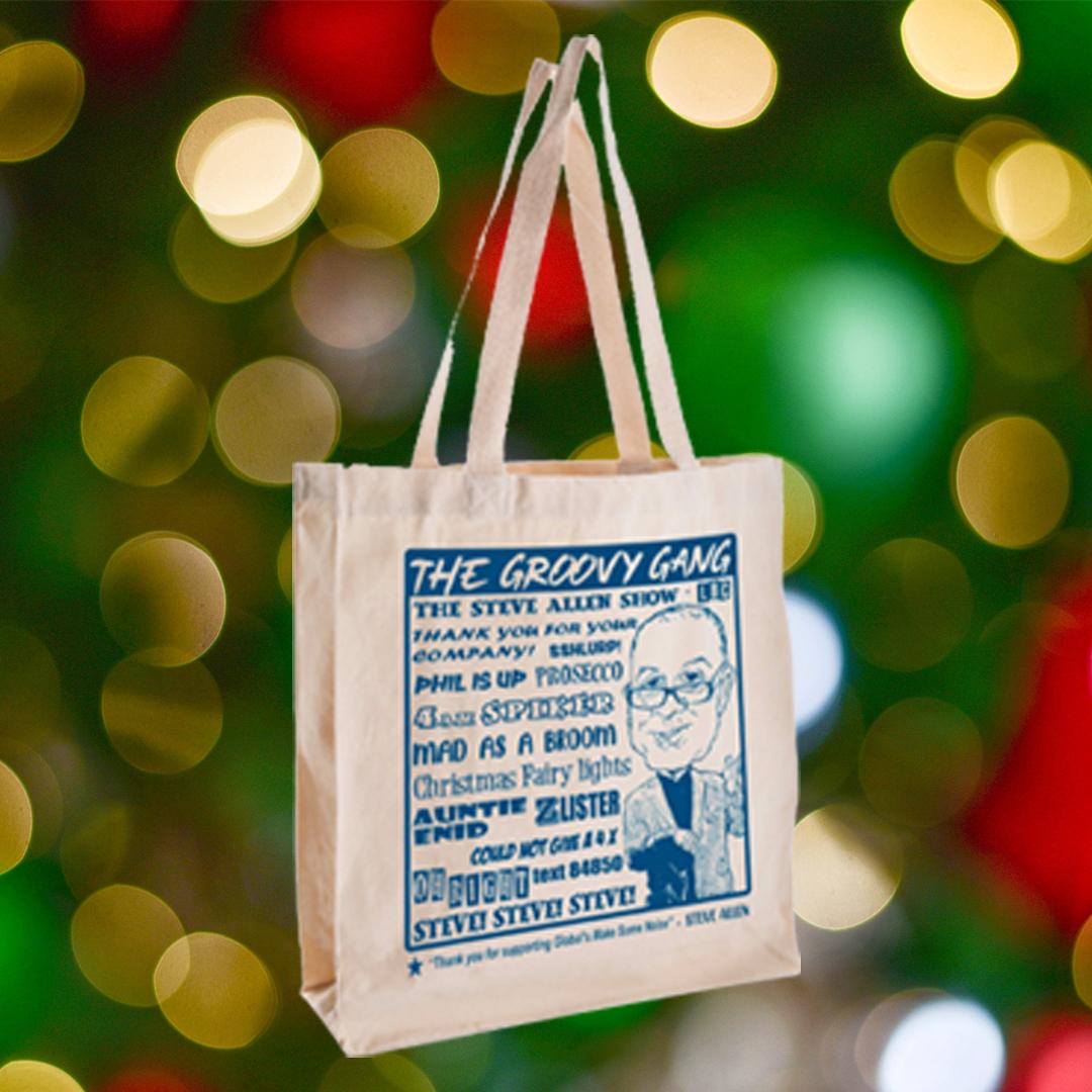 Steve Allen Tote Bag