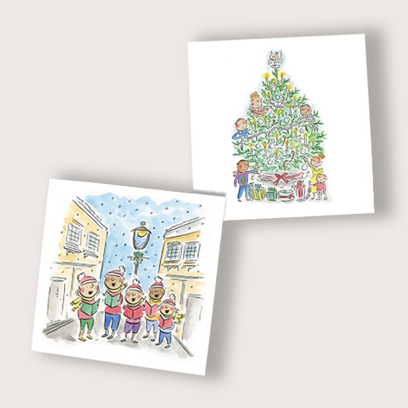 A Christmas Carol - Pack of 10 Christmas Cards