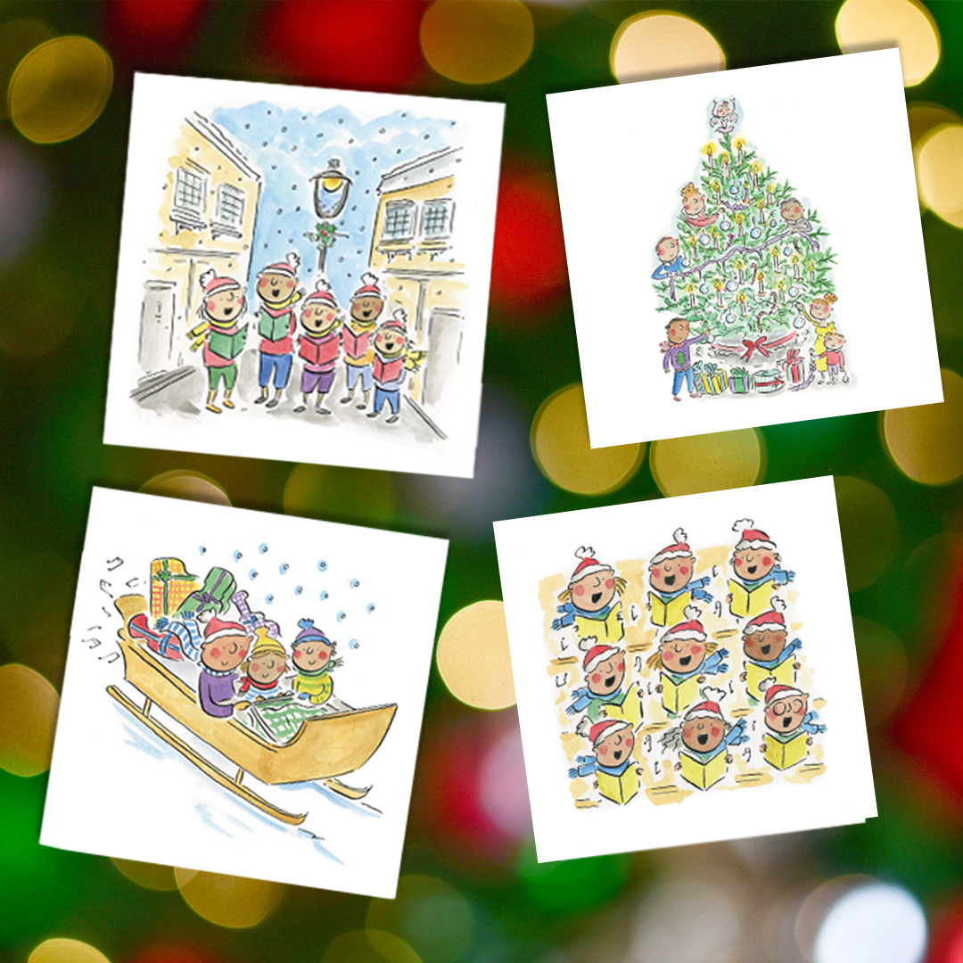 Christmas Cards - 3 Packs
