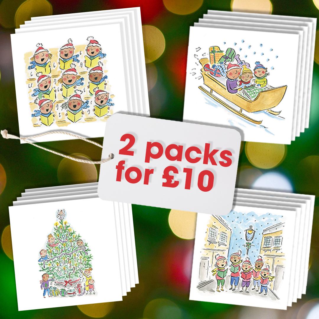Christmas Card - Both sets