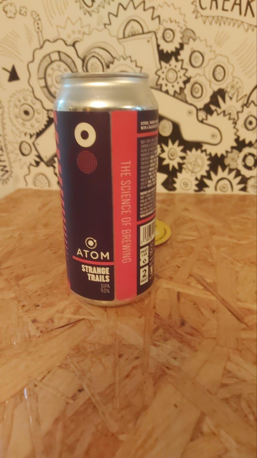 Atom Brewery Strange Trails DIPA 9%