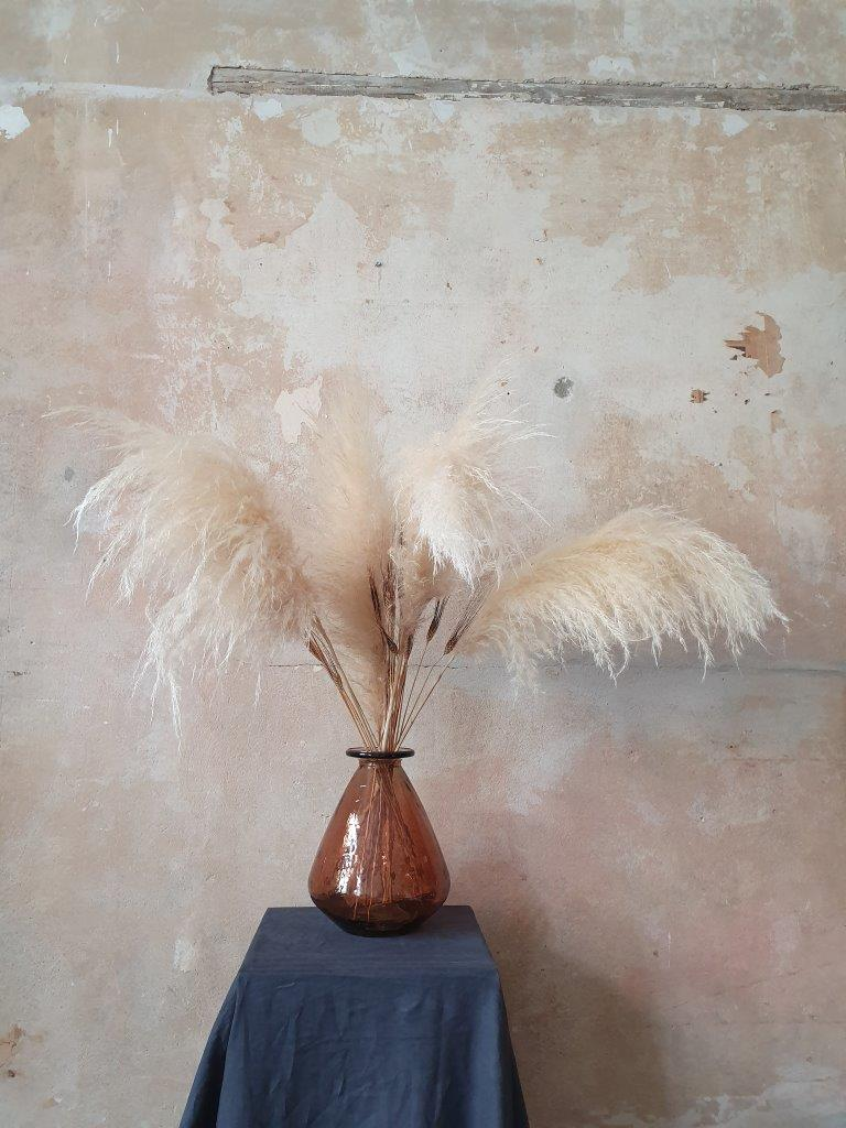 'Barcelona Vase' Brown Large (VP)