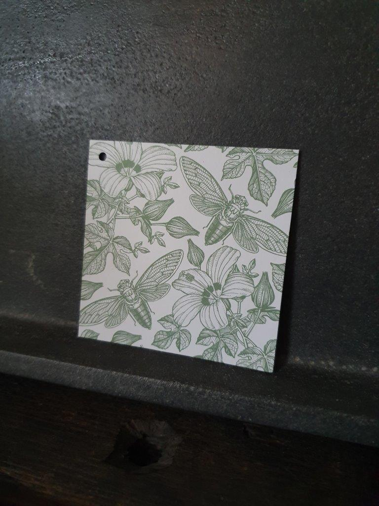 'Flowers & Bees' Card (C)