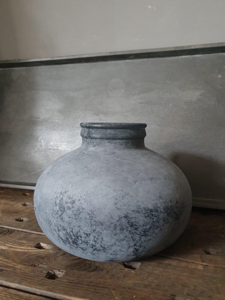 'Barcelona Globe Vase' Black (VP)