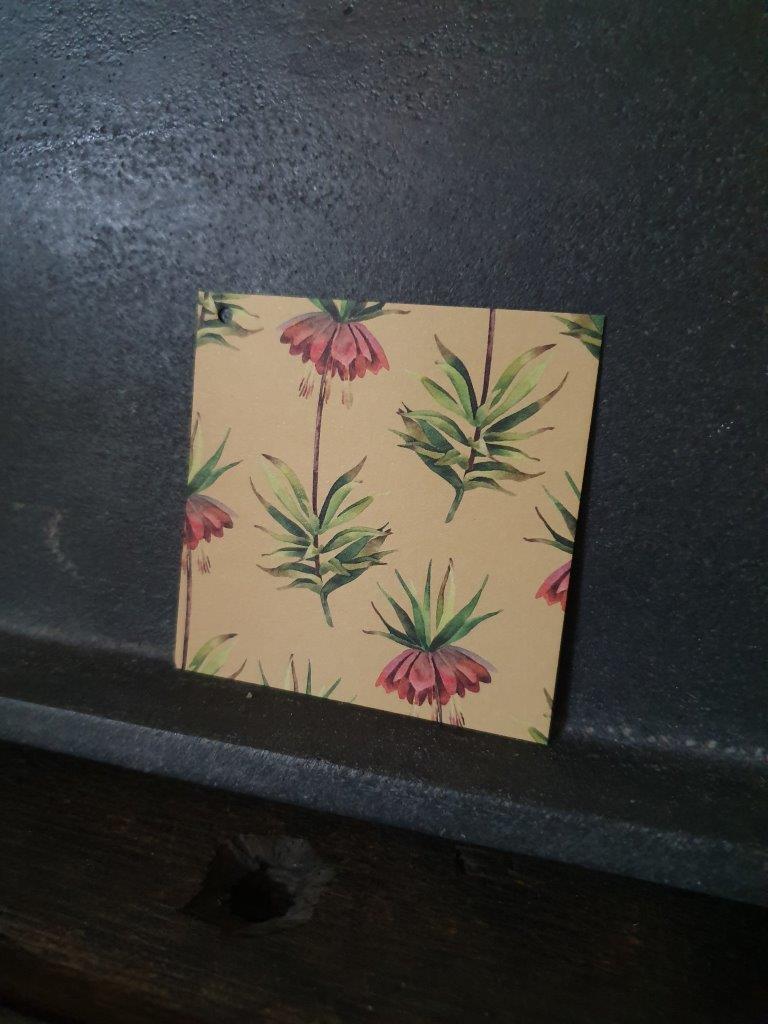 'Garden Flowers' Card (C)