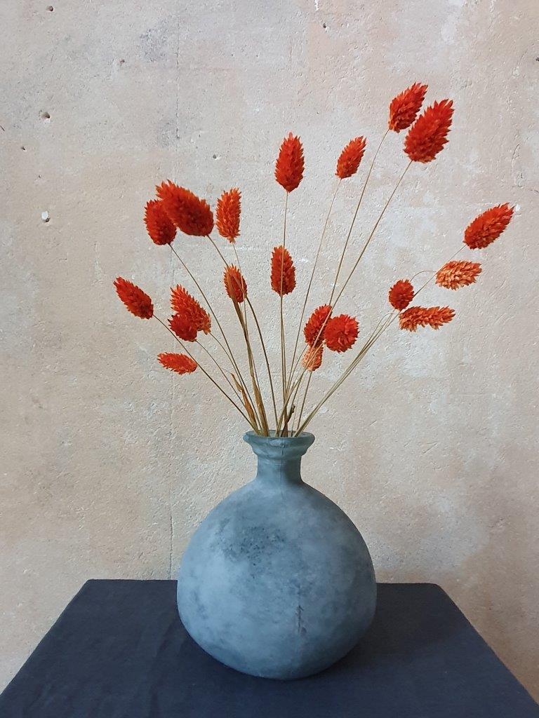 'Barcelona Bottle Vase' Grey (VP)