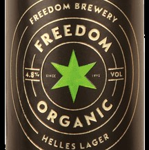 Freedom Helles organic lager