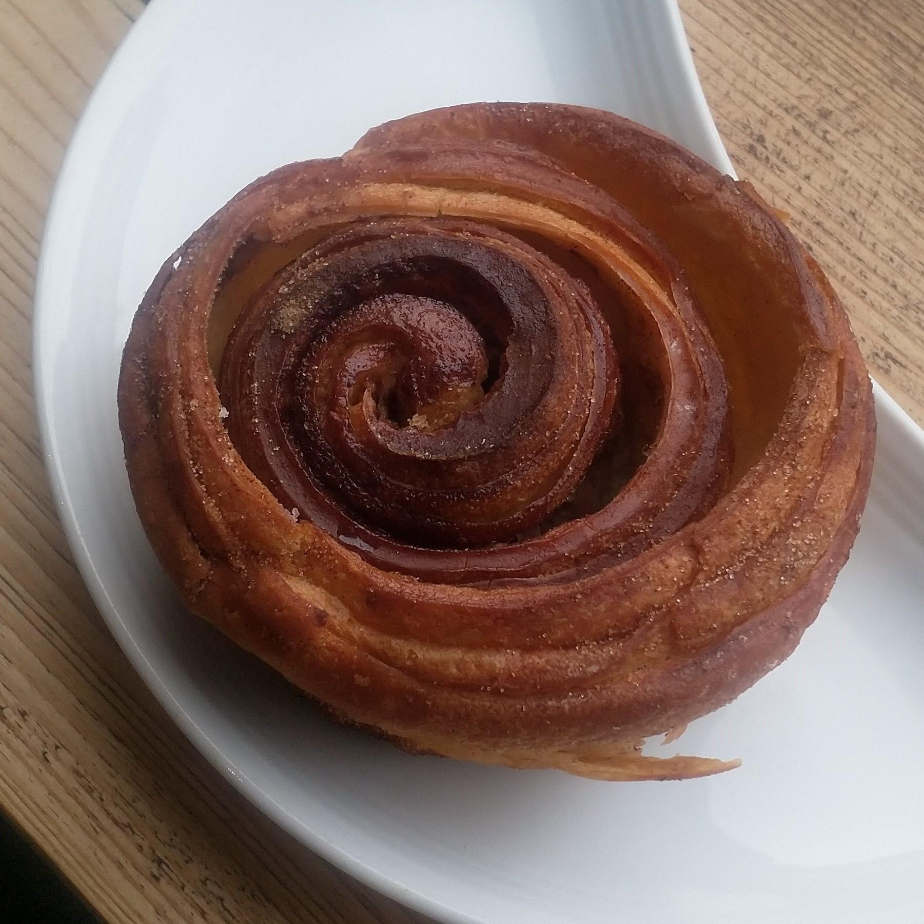 Rex Nordic style cinnamon bun takeaway