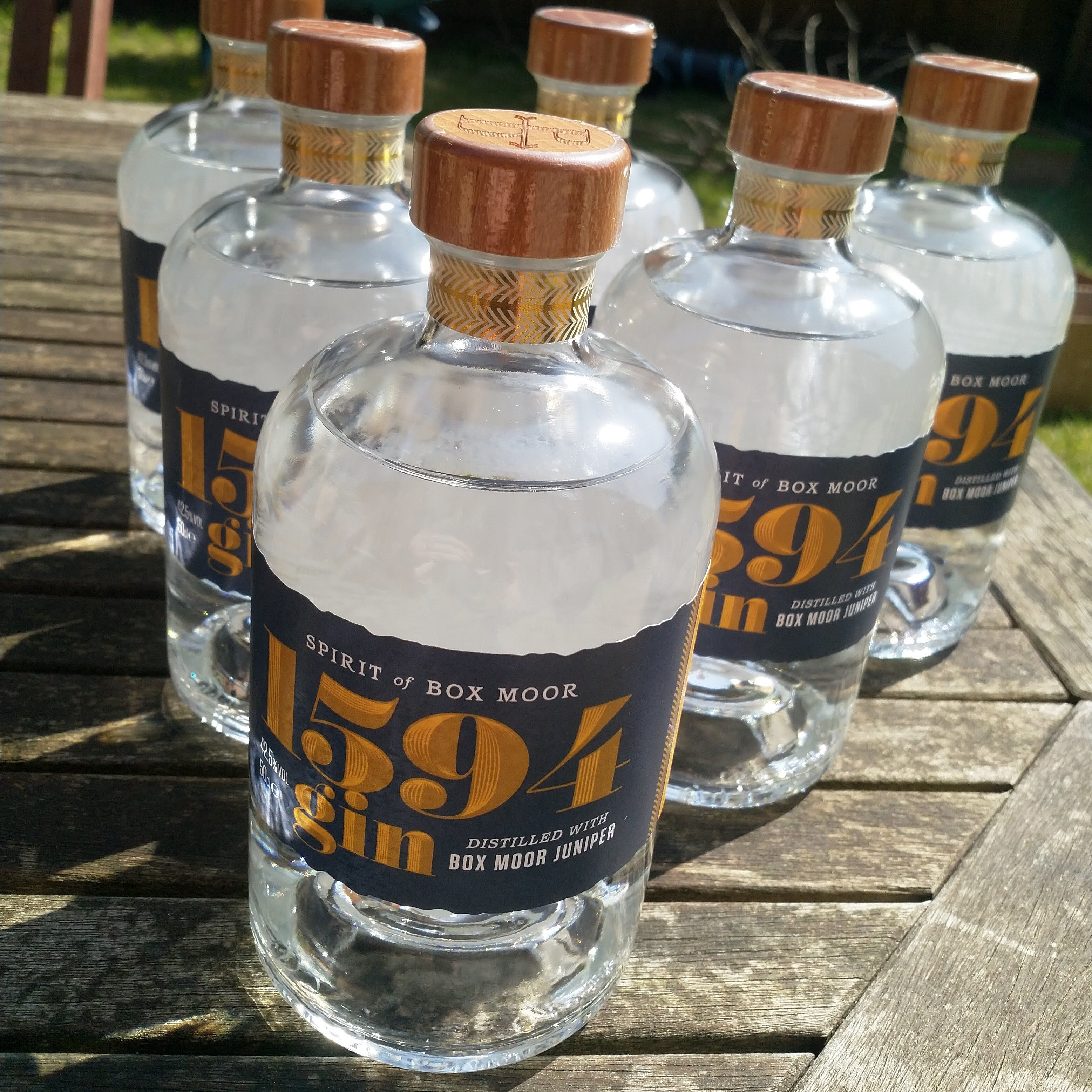 Campfire BOXMOOR gin 50cl (very limited edition)