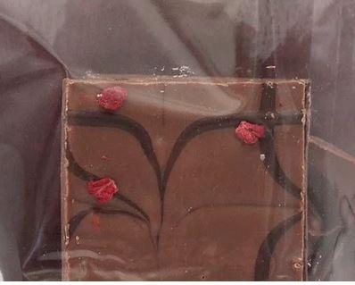 YC Lemon Raspberry bark 100g bag - takeaway/delivery