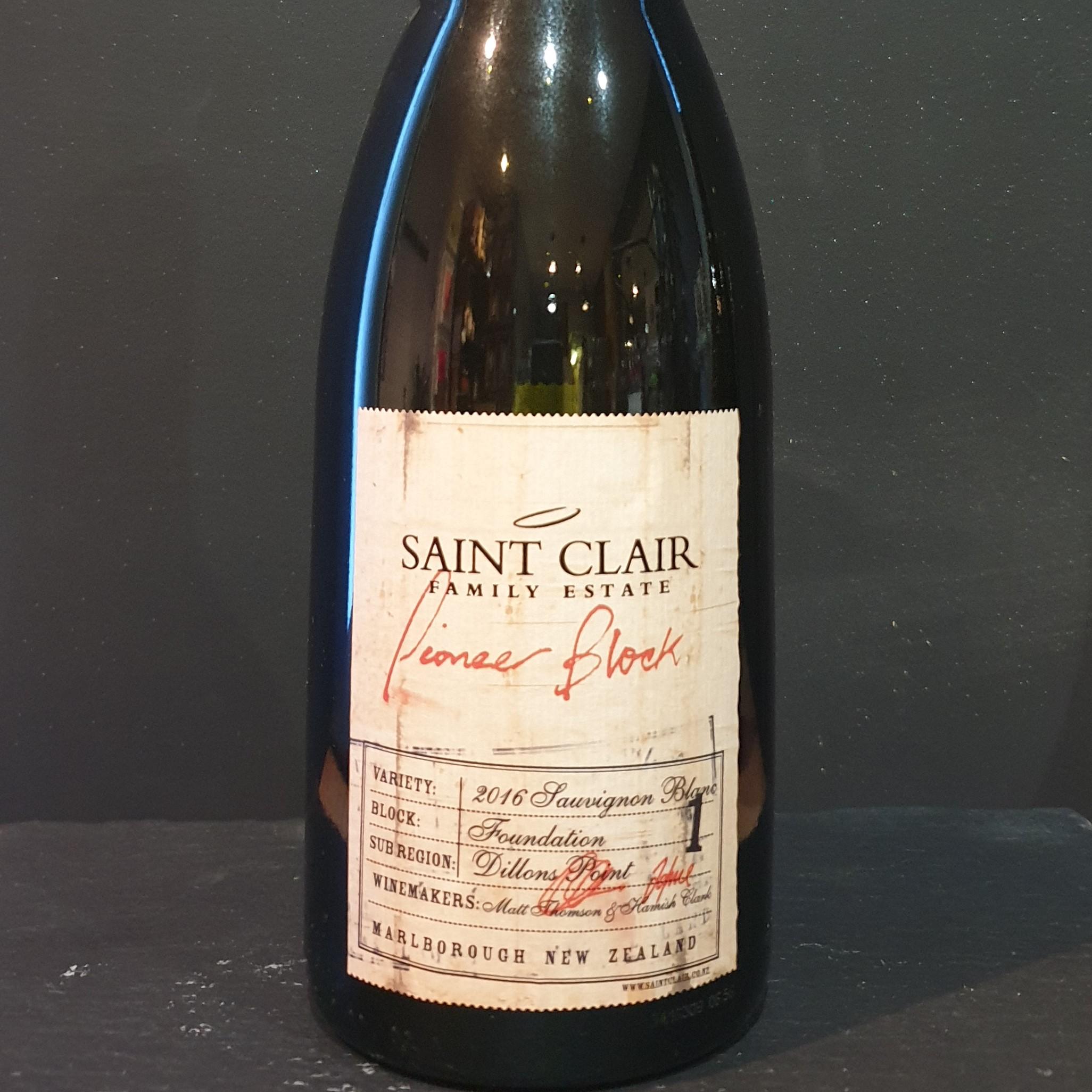 Saint Clair Pioneer Block 1 Foundation Sauvignon Blanc