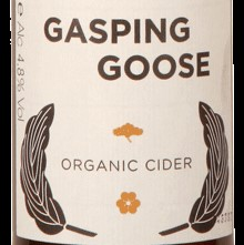Gasping Goose organic cider