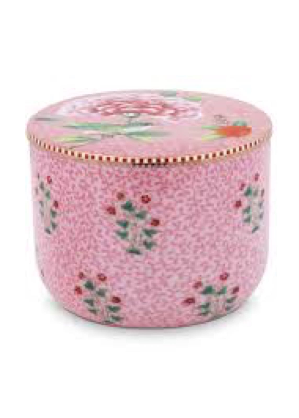 Pip studio pink Cotton Bowl with lid