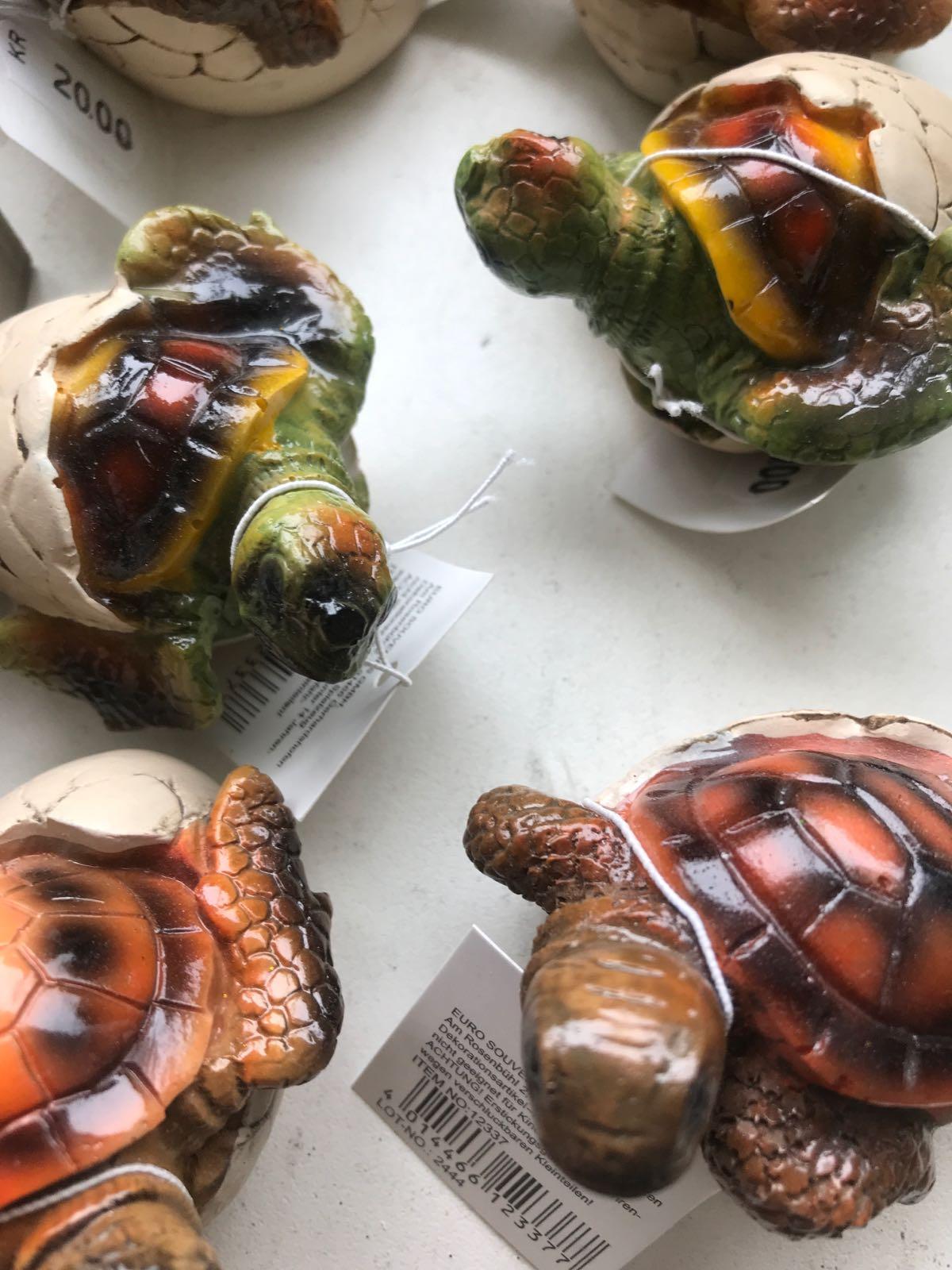 Prydnad sköldpadda