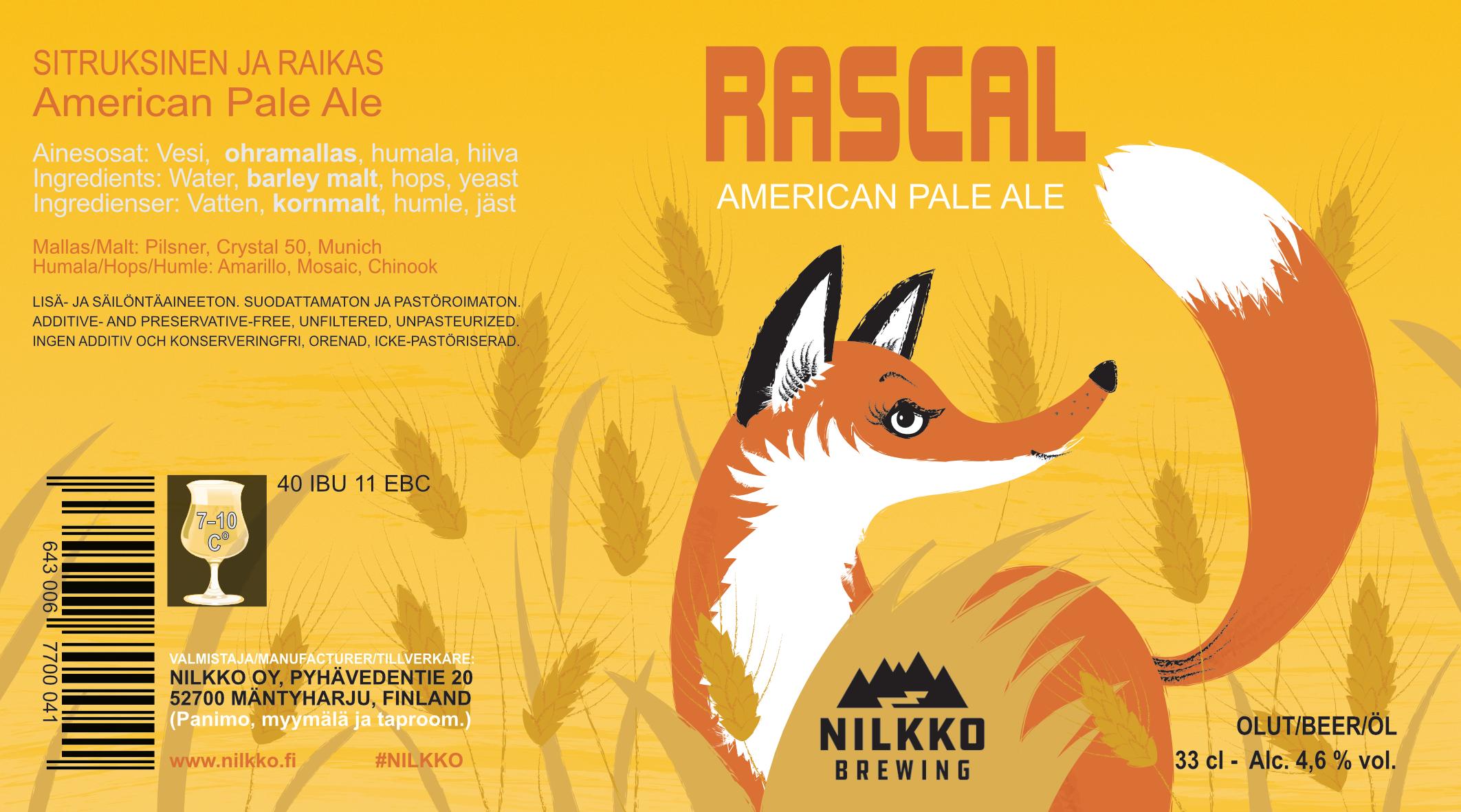 Rascal APA 4,6% - 0,33l