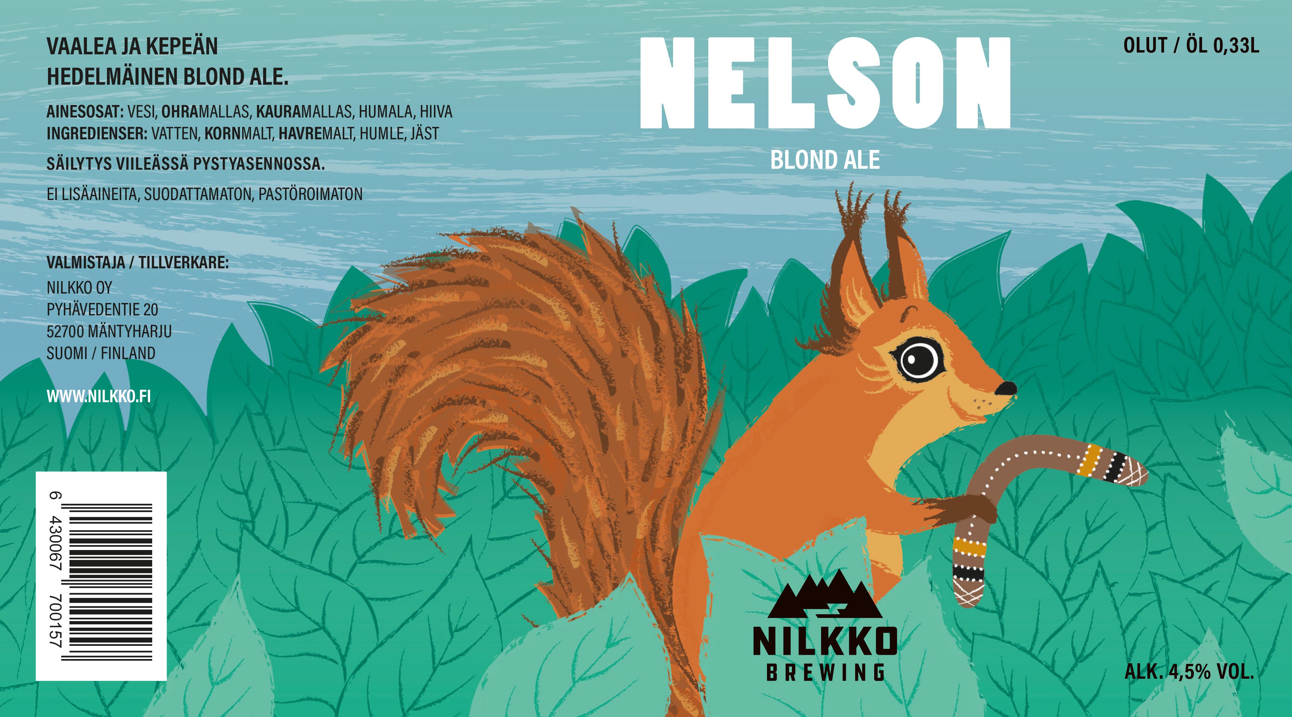 Nelson blond ale 4,6% - 0,33le