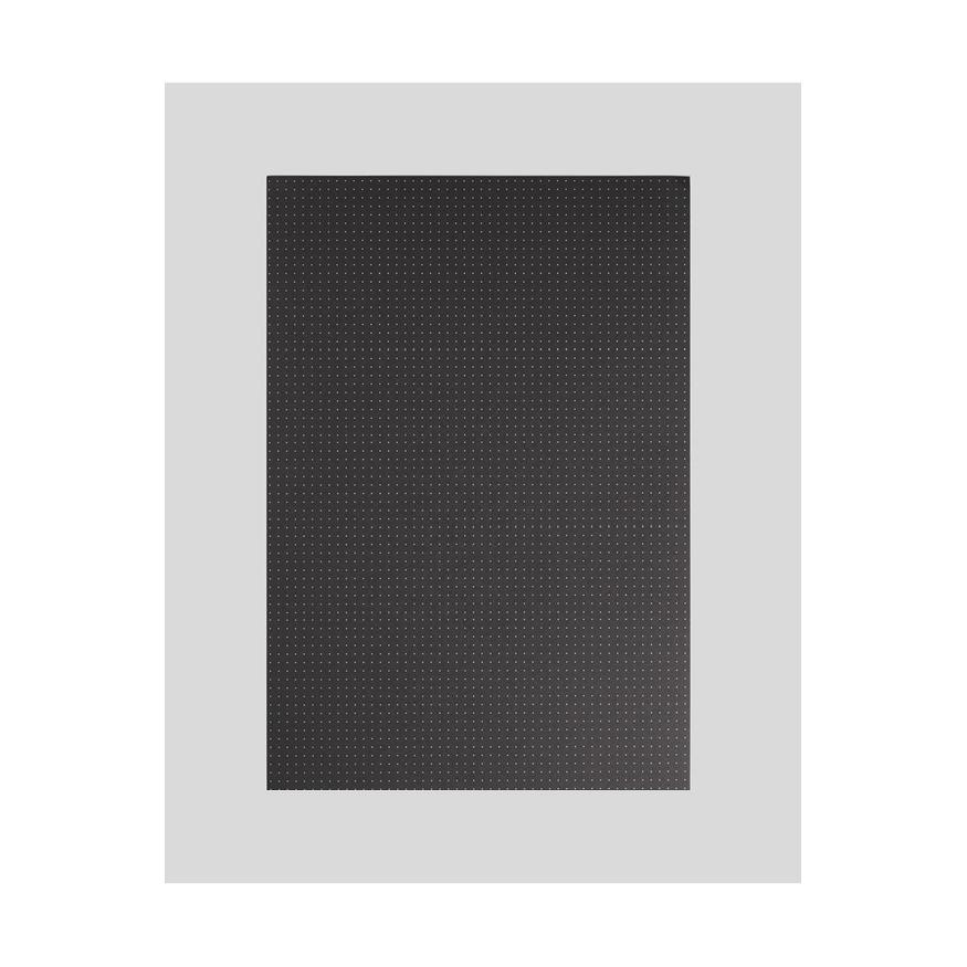 Lösa ark A4, svarta, dotted, 20-pack