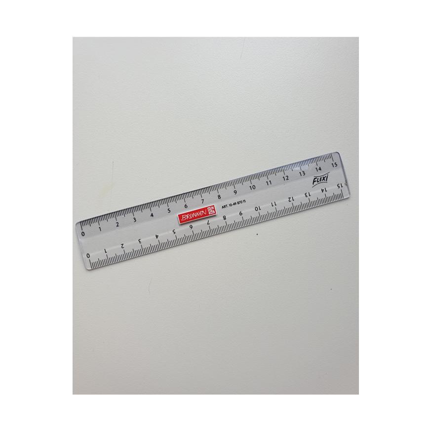 Plastlinjal, 15 cm