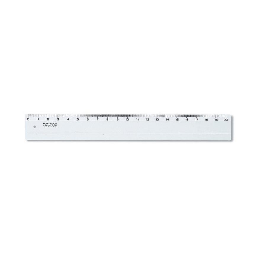 Plastlinjal, 20 cm