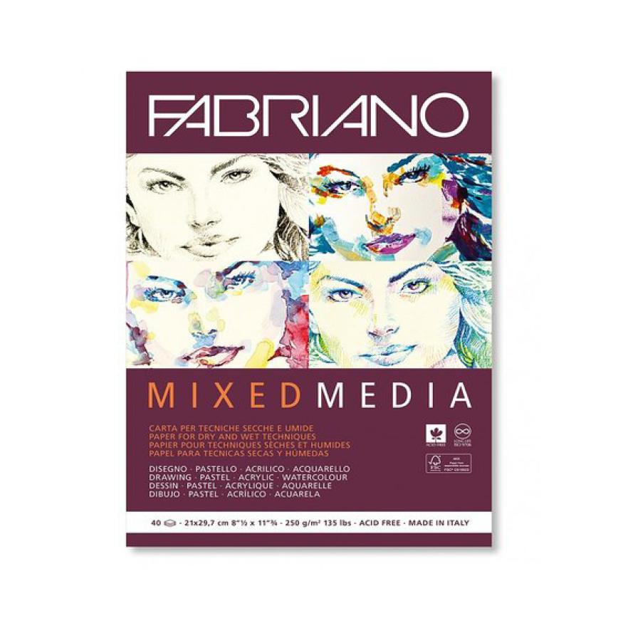 Fabriano Mixed Media, A4