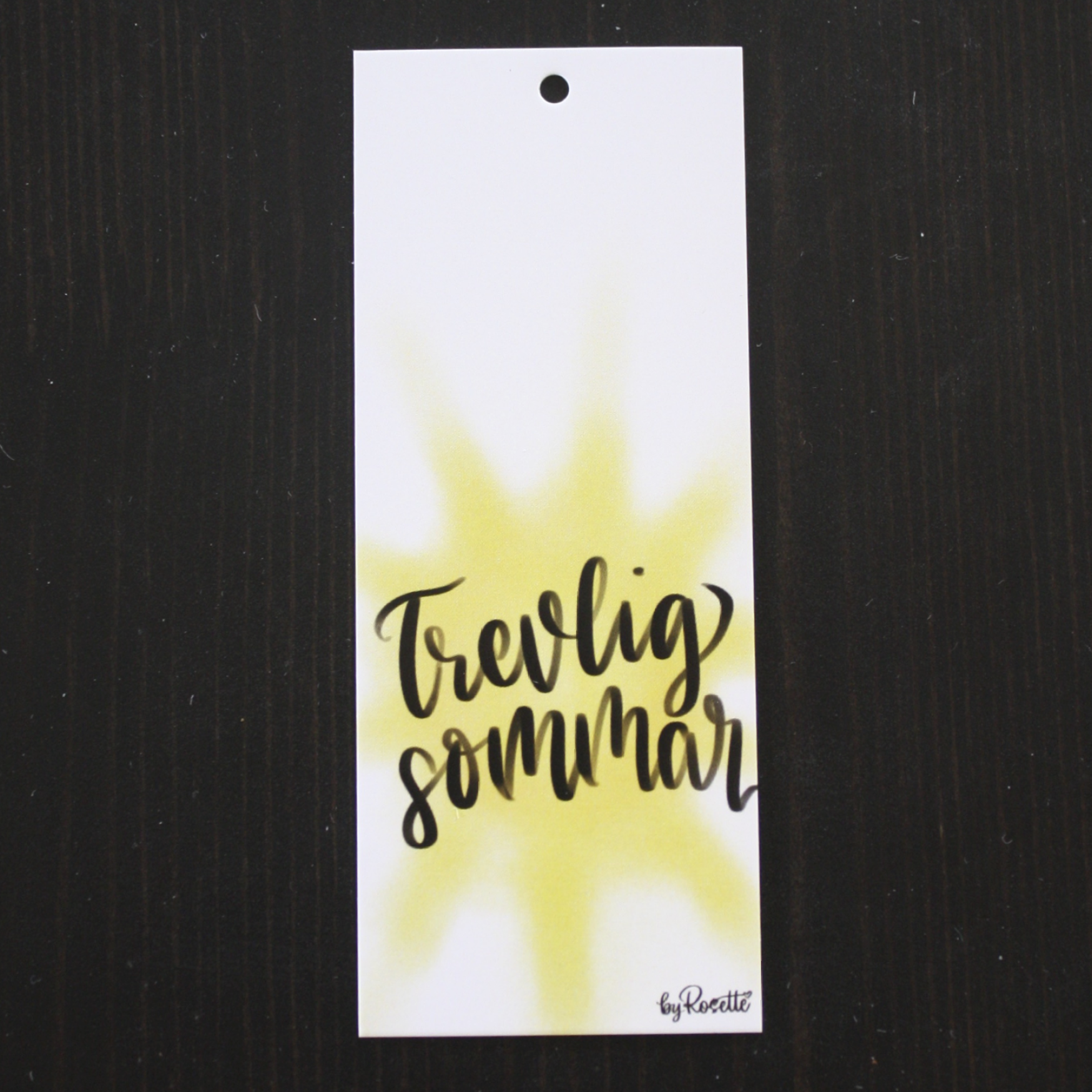 Tag, Trevlig sommar