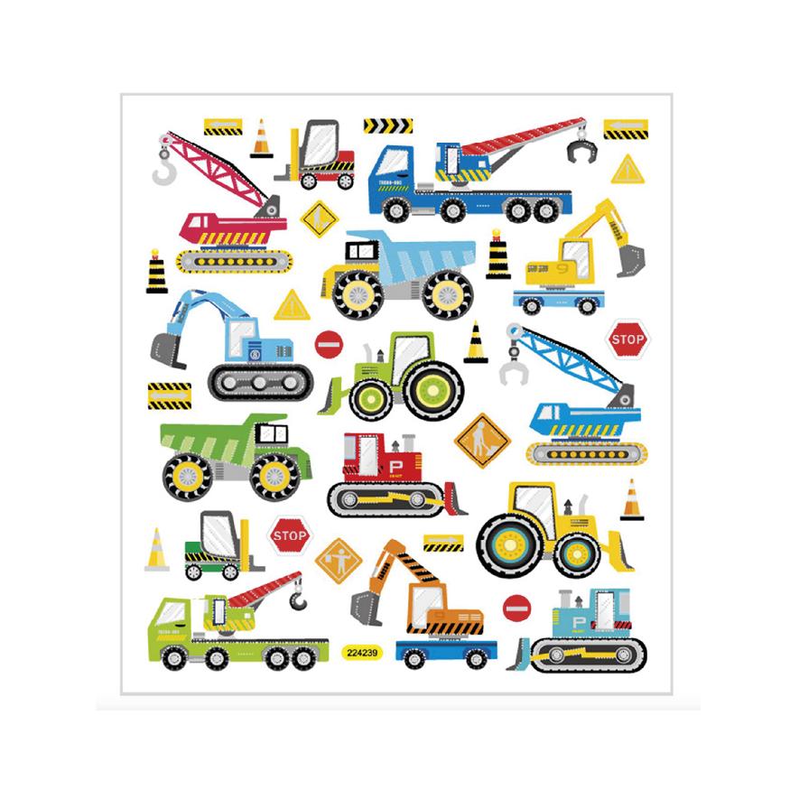 Stickers, Arbetsfordon