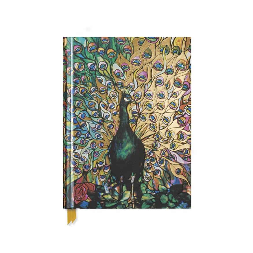 Skrivbok, Påfågel, A4