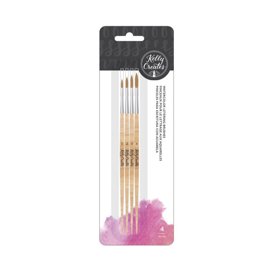 Kelly creates, penslar, 4-pack