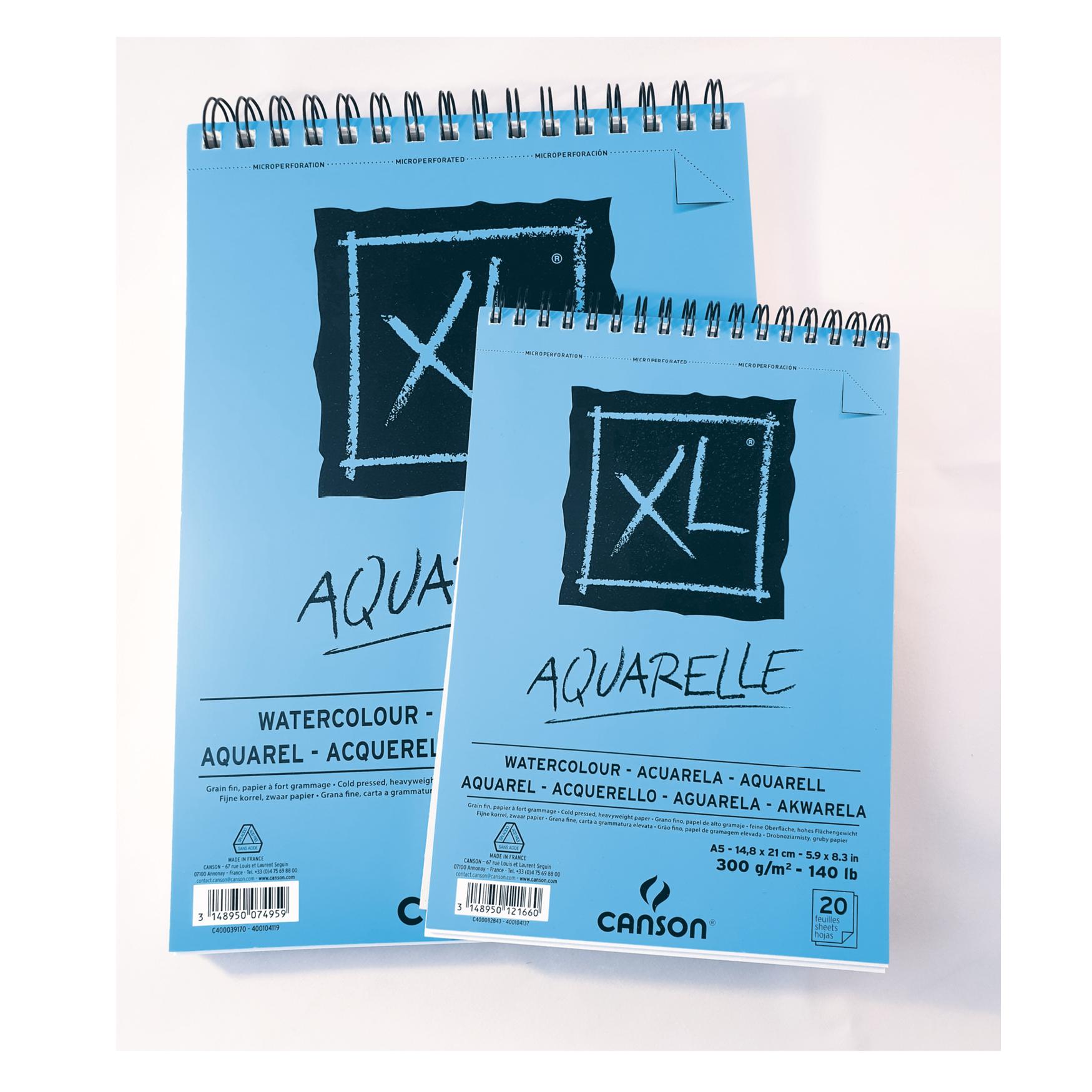 Canson XL Aquarelle block, A4
