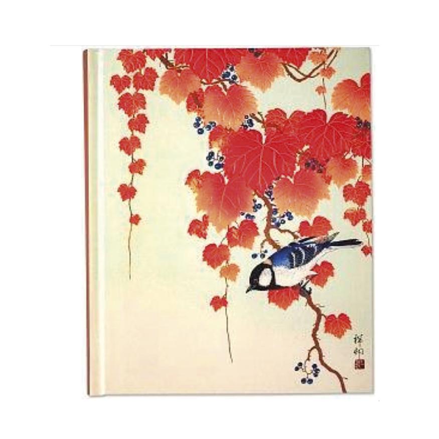 Skrivbok, Bird and red ivy