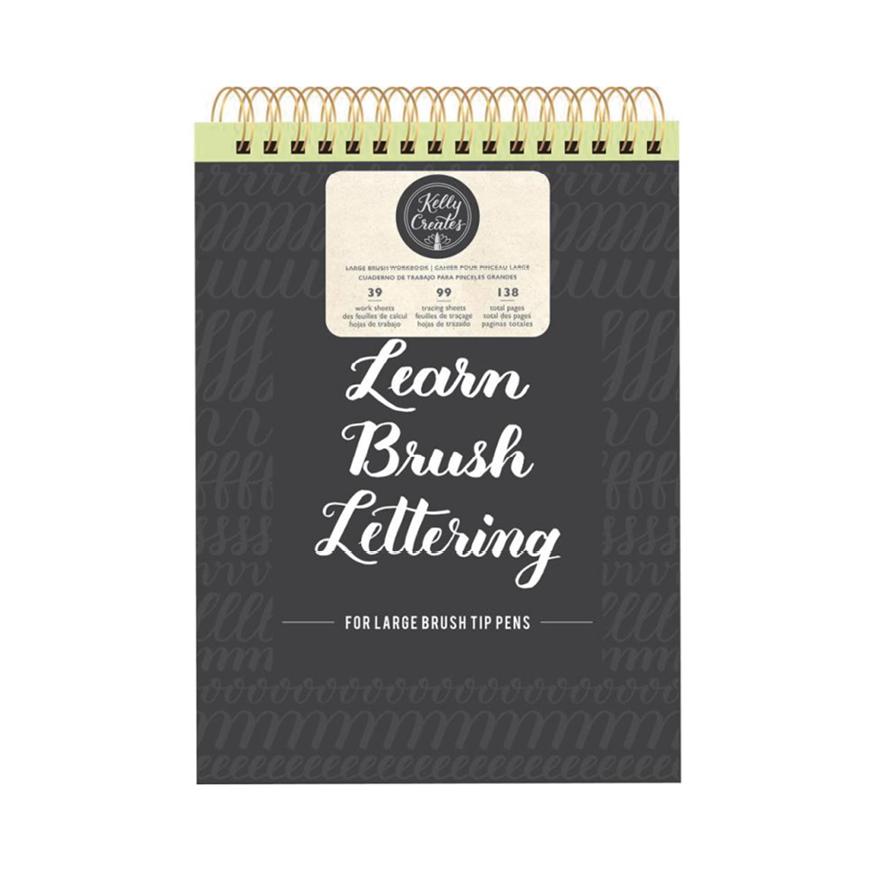 Kelly creates, Large brush workbook