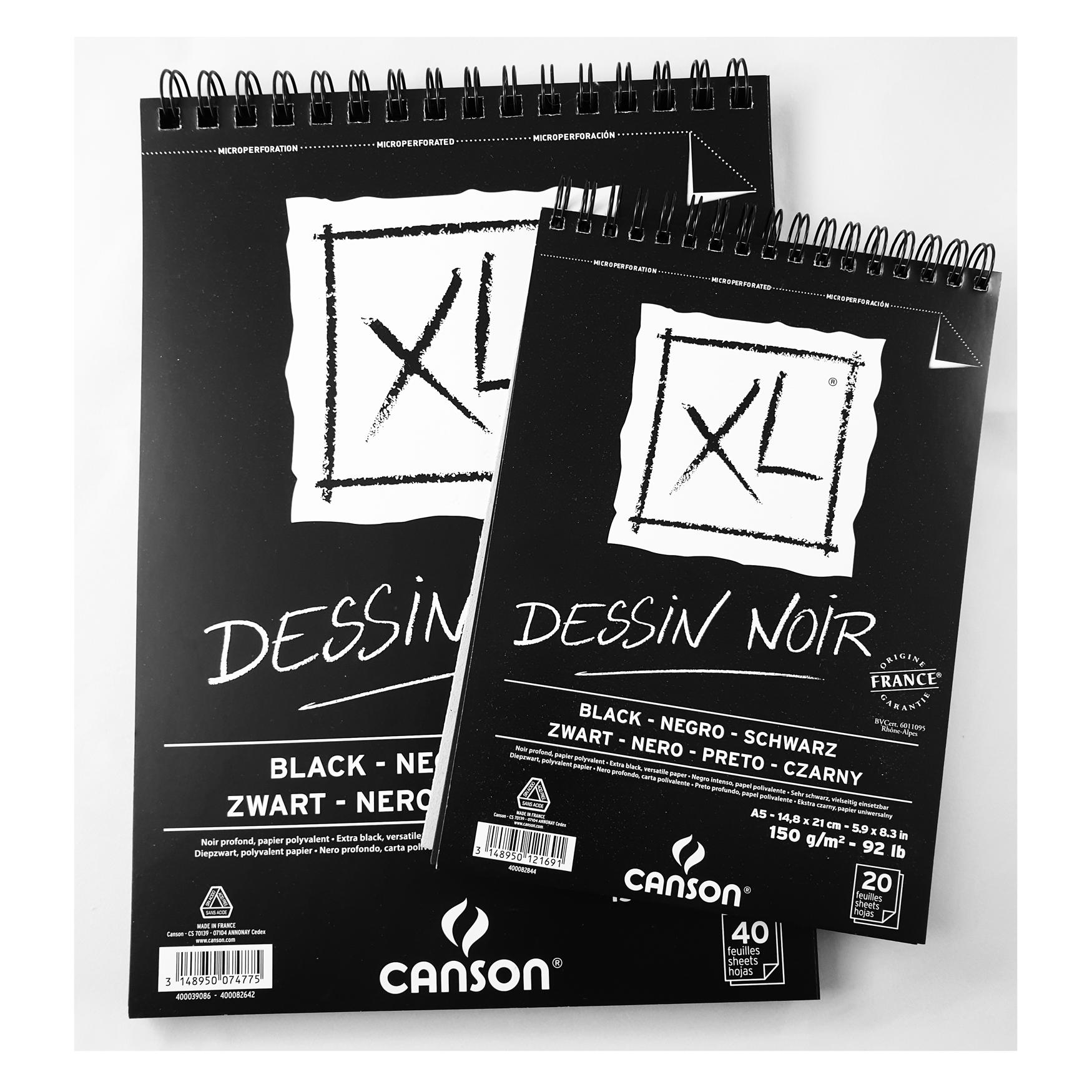 Canson XL Noir, A5