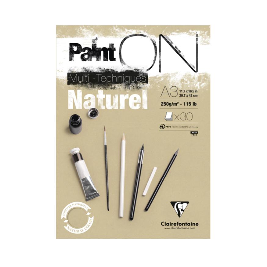 Paint on, A5, Naturel