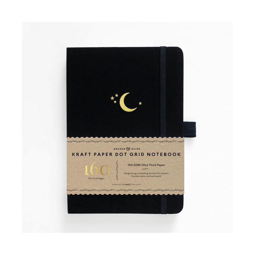 Archer & Olive, Crescent Moon, kraft paper