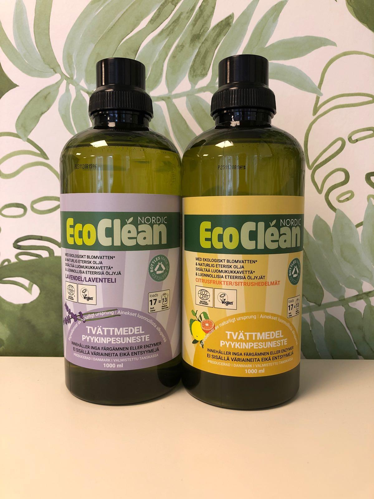 EcoClean Tvättmedel 1000 ml