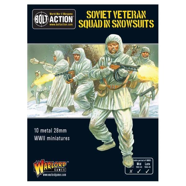 Soviet Veteran Squad in Snowsuits