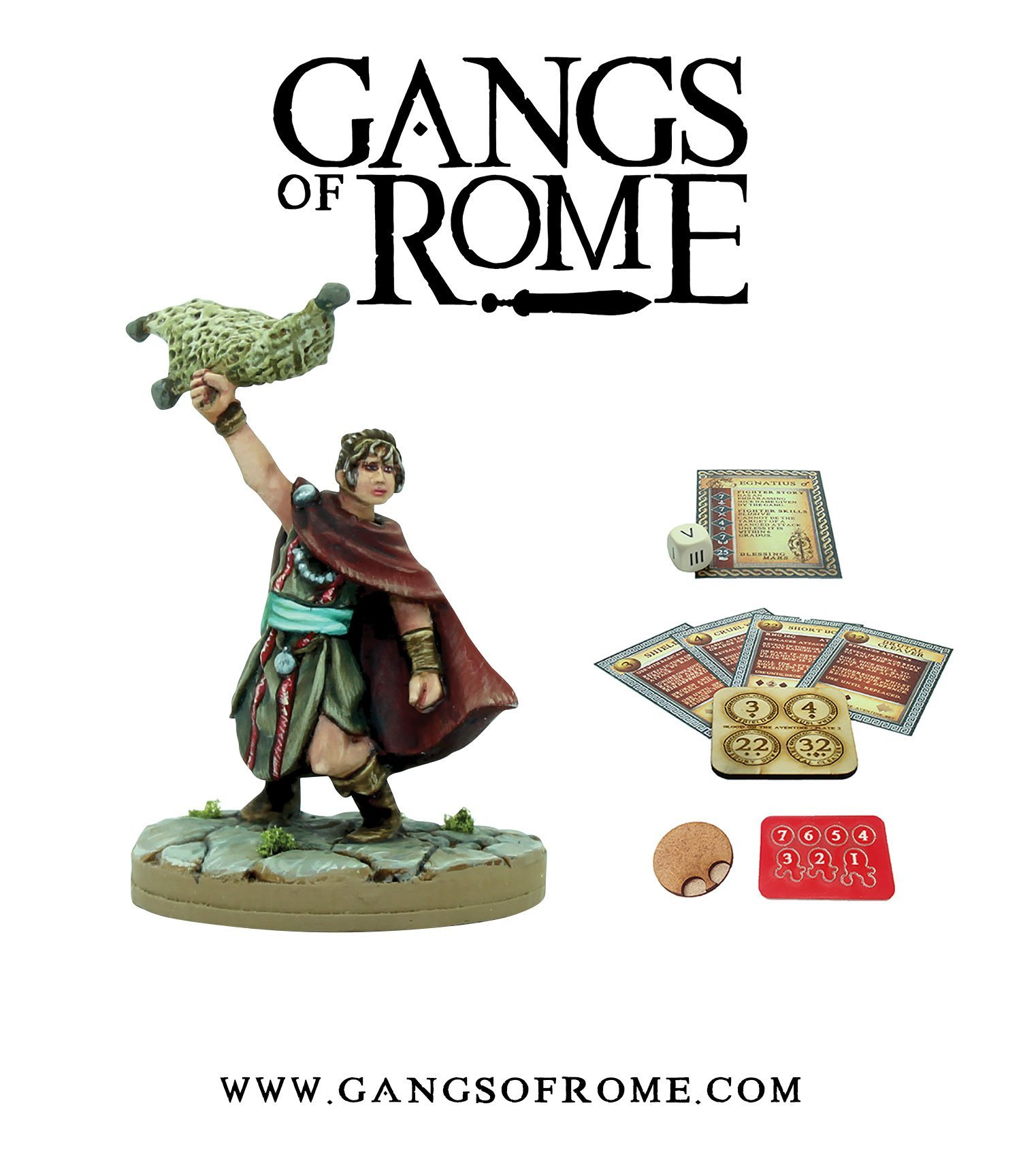 Fighter Undecimus, Gangs of Rome