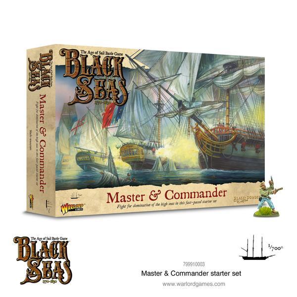 Master & Commander Starter Set, Black Seas