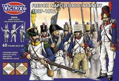 Napoleonic French Infantry 1807-1812, Victrix